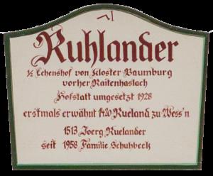 Ruhlanderhof, Unterwössen, Chiemgau